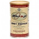 Solgar Whey To Go Protein Powder 450 Gram Chocolate Flavour