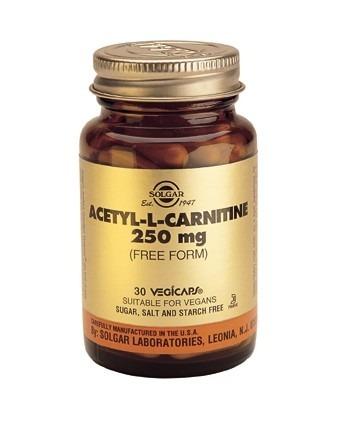 Solgar Acetyl L-Carnitine 30 Capsules