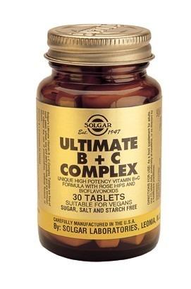 Solgar Ultimate B Plus C 30 Tablets