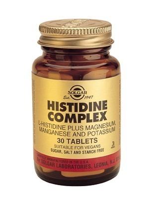 Solgar Histidine Complex 30 Tablets