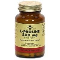 Solgar L-Proline 500mg Vegicaps 100 Capsules