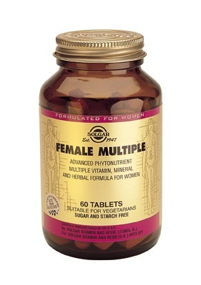Solgar Female Multiple 120 Tablets