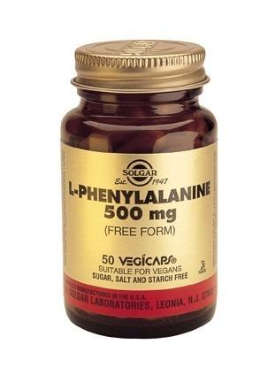 Solgar L-Phenylalanine 500mg Vegicaps 50 Capsules