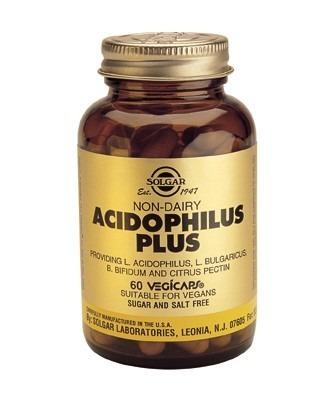 Solgar Advanced Acidophilus Plus Vegicaps 120 Capsules