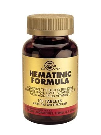 Solgar Hematinic 100 Tablets