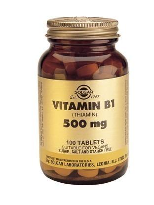 Solgar Vitamin B1 500mg 100 Tablets