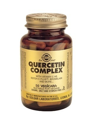 Solgar Quercetin Complex Vegicaps 50 Capsules