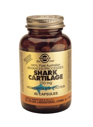 Solgar Shark Cartilage 750mg 100% Pure 180 Capsules
