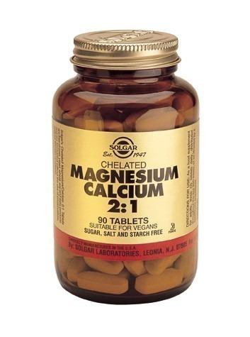 Solgar Chelated Magnesium Calcium 2:1 90 Tablets