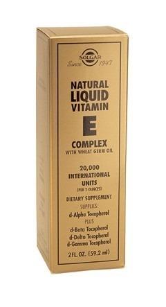 Solgar Liquid Vitamin E 56 Gram