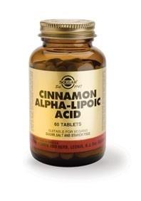 Solgar Cinnamon Alpha Lipoic Acid 60 Tablets