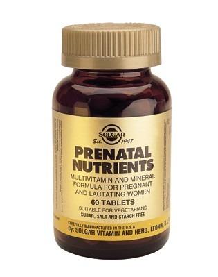 Solgar Prenatal Nutrients 60 Tablets