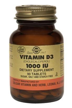 Solgar Vitamin D 1000 IU 90 Tablets