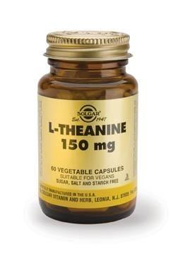 Solgar L-Theanine 150mg Vegicaps 60 Capsules