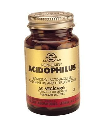 Solgar Advanced Acidophilus Vegicaps 100 Capsules
