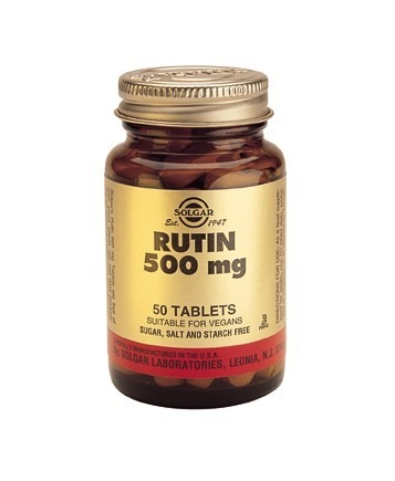 Solgar Rutin 500mg 50 Tablets